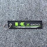 SUSHANCANGLONG Cadena de Llavero de la Llavero de la Motocicleta Cadena de Etiquetas de la Etiqueta de la Etiqueta para Kawasaki Z800 Z900 Z900RS Z1000 Z1000SX (Color : Z900)