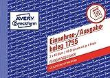 AVERY Zweckform 1755 Einnahme-/Ausgabebeleg (A6 quer, selbstdurchschreibend, von Rechtsexperten geprüft, für Deutschland zur ordnungsgemäßen,...