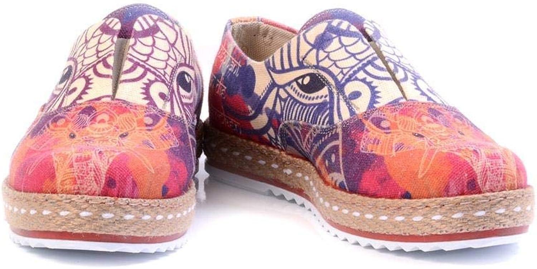 GOBY Women's shoes 'Elephant Slip-On Espadrille'   Memory Foam YAR102