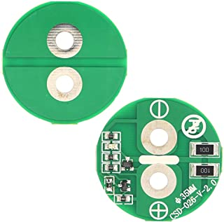 watersouprty 3.5cm Universal 2.7V 500F Super Capacitor Balancing Protection Board 1Pc