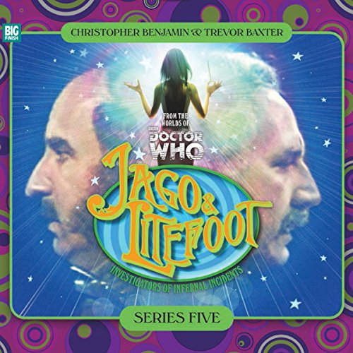Jago & Litefoot Series 5                   By:                                                                                                                                 Jonathan Morris,                                                                                        Marc Platt,                                                                                        Colin Brake,                   and others                          Narrated by:                                                                                                                                 Christopher Benjamin,                                                                                        Trevor Baxter,                                                                                        Lisa Bowerman,                   and others                 Length: 5 hrs and 11 mins     17 ratings     Overall 4.9
