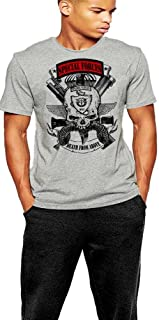 Army Special Forces T-Shirt 18 Delta Grey Tee By Warface Apparel