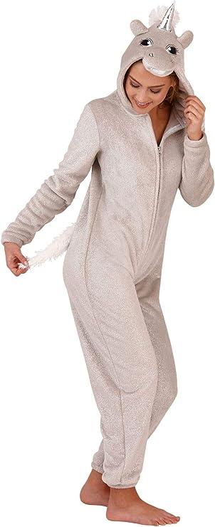 Womens Ladies 1Onesie Animals Novelty One Piece Soft Fleece Loungewear Pyjama All in One Pajamas