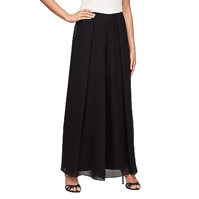 Alex Evenings Straight Leg Dress Pant (Petite Regular Plus Sizes) Close Out
