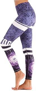 High Waist Yoga Pants, Tummy Control Workout Pants for Women Super Soft Capri Leggings