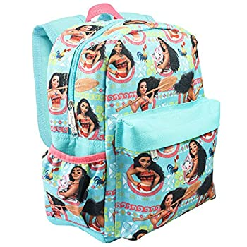 Disney Moana Allover Print 16 inch Girls Large Backpack