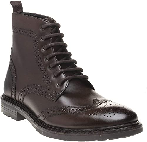 Base London Solid Homme bottes Marron