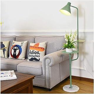 Lampe sur Pied Lampadaires Lampadaire moderne Lampadaire avec Table basse Chambre Étude Salon Bureau de lecture Lampe Floo...