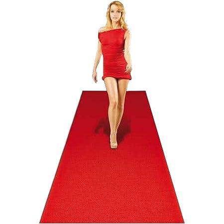 Hochzeitsl/äufer PODIUM Hochzeitsteppich Eventteppich 2,00m x 13,00m Empfangsteppich Teppichboden f/ür Messe /& Event VIP Event-Teppich-L/äufer Rot