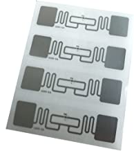 YARONGTECH AZ 9662 860~960MHZ Alien H3 73.5x21.2mm UHF tag Adhesive Tag inlay RFID Label (Pack of 500)