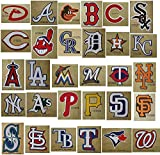 30 MLB Stickers Complete Set. All 30 Baseball Teams. Major League Baseball Team Logo Pack. Yankees Red Sox Dodgers Cubs Giants Tigers Braves White Mets Angels Indians Rangers Pirates Reds Astros Twins