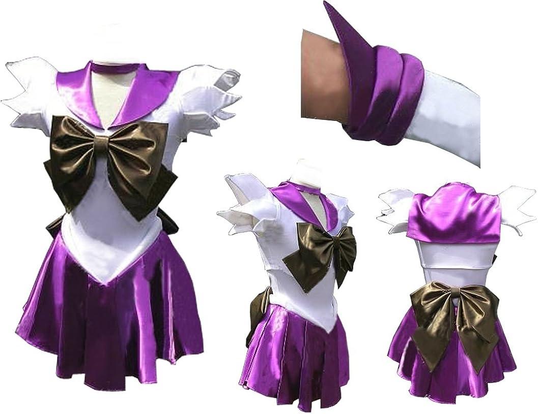 Sailor Moon Cosplay Costume Accessory Gloves For Sailor Saturn Tomoe Hotaru Ver1