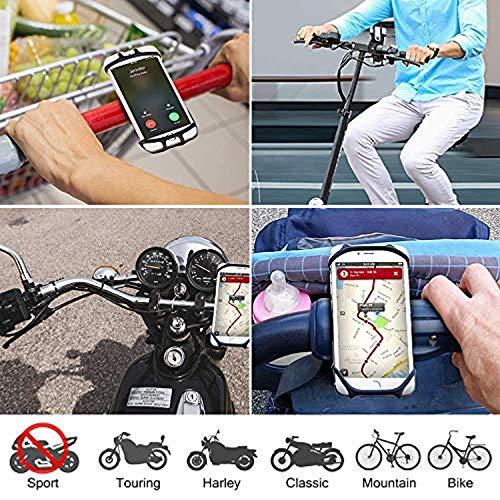 Soporte-Movil-BicicletaSoporte-Movil-MotoGPS-Universal-Rotacion-360-ManillarSoporte-Desmontable-MotoBiciAjustable-Silicona-45-65