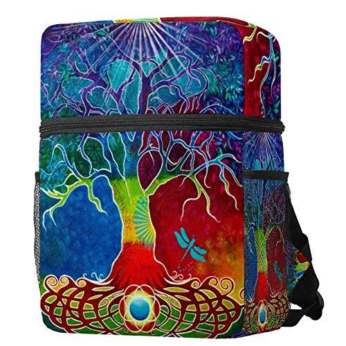 Kids Backpack Celtic Tree Of Life Lightweight Preschool Rucksack