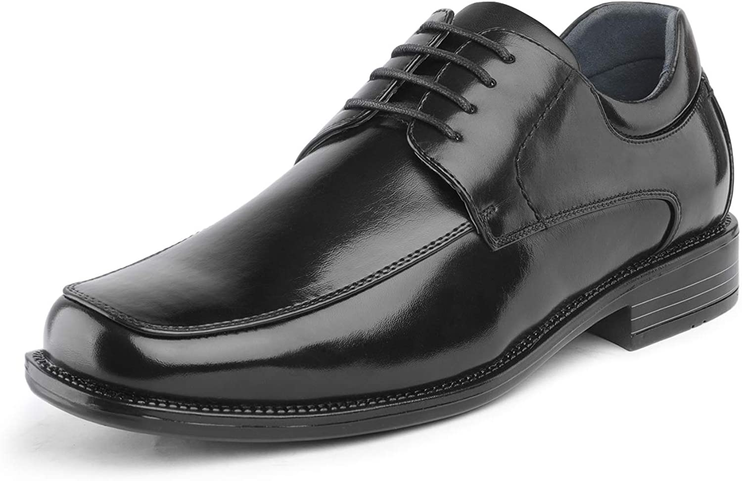 Bruno Marc Men's Square Toe Dress Classic Shoes Business New sales Mail order cheap