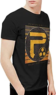 WLTRQQRLXG Men's Periphery III Select Difficulty Crew Neck Short Sleeve T-Shirt Graphic Tee