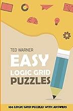 Easy Logic Grid Puzzles: EntryExit Puzzles - 100 Logic Grid Puzzles With Answers (Easy Puzzle Books)