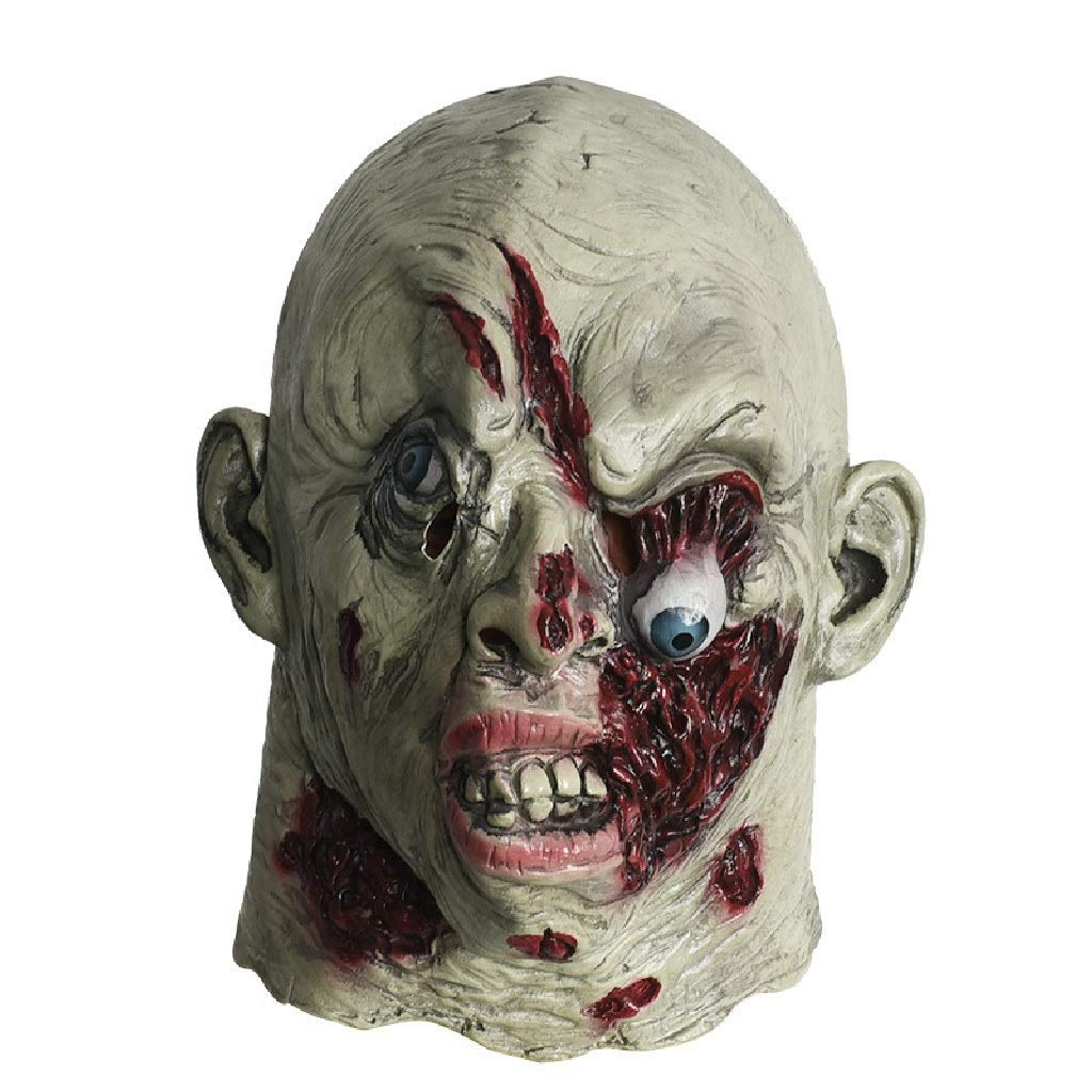 Máscara de cabeza muerta de Walking Dead, máscara de monstruo ...