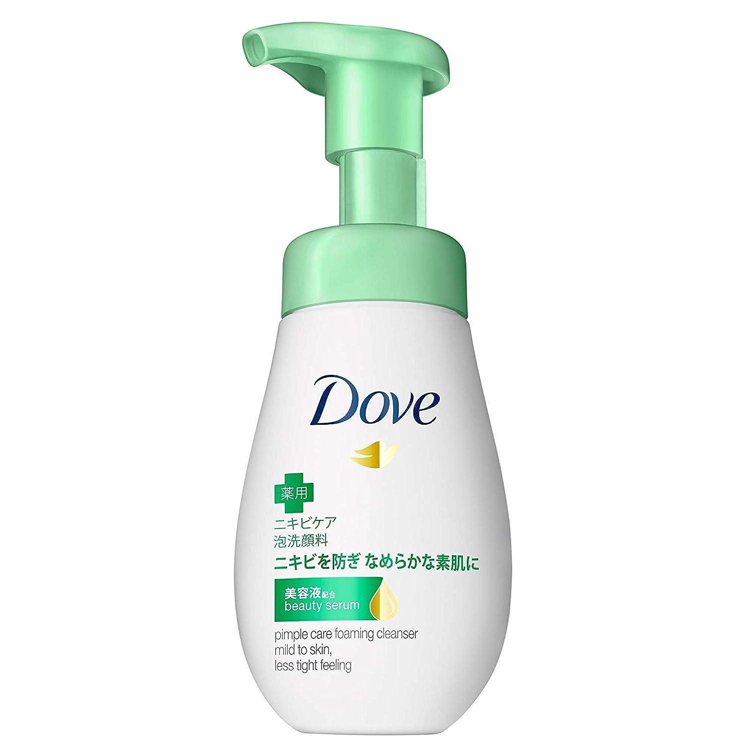 腐った承認する常にダヴ ニキビケア クリーミー泡洗顔料160ml×6点