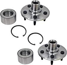 03-05 Lincoln Aviator 02-10 Mercury Mountaineer Rear Wheel Hub and Bearing Assembly Compatible With 02-10 Ford Explorer 5 Lugs Hub Repair Kit Explorer Sport Trac AUQDD 2PCS 521000