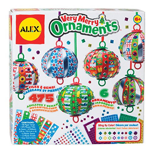 ALEX Toys Craft Very Merry Ornaments