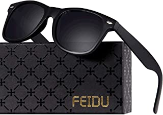 Polarized Sunglasses for Men Retro - FEIDU Polarized...