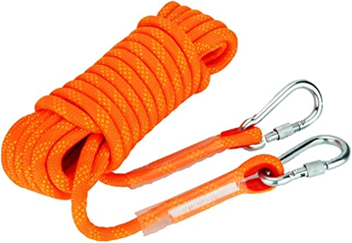 SCJ Cordes Corde d'escalade extérieure, Corde de sécurité de 14   12mm, Corde de Rappel, Corde d'escalade, équipement d'évacuation de Corde de Nylon, 30m   20m   15m   10m (Taille  12mm-20m)