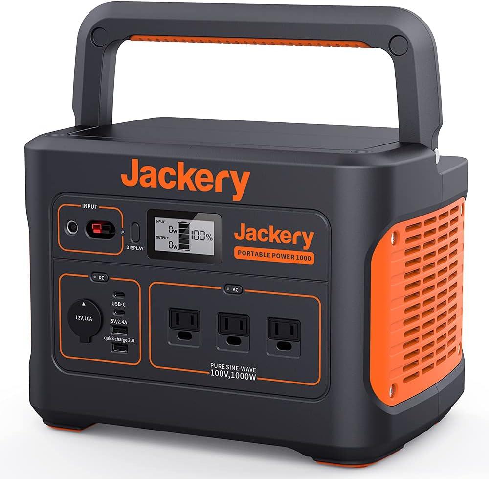 Jackery ポータブル電源1000 発電機