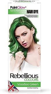 Paintglow Rebellious Colours Semi-permanent Hair Dye (voodoo Green)