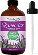 Naturopathy Lavender Essential Oil, 100% Natural Therapeutic Grade, Premium Quality Lavender Oil, 4 fl. Oz - Perfect for A...