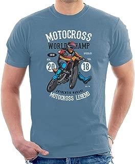 Motocross World Champ Men's T-Shirt