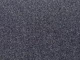 Kleiderstoff, Polyester und Wolle, Fischgrätenmuster,