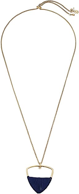 Lucky Brand - Wrapped Pendant Necklace