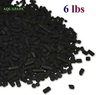 Aquapapa 6 lbs Bulk Activated Carbon Charcoal Pellets for Aquarium Fish Tank Koi Reef Filter