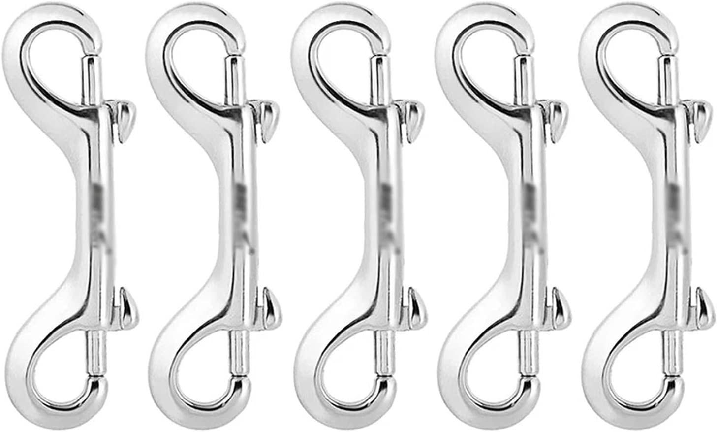 YDSHOLL 5PCS SS 316 Scuba Diving Bolt Double Ended Max 58% Limited time for free shipping OFF Ho Clips Snap
