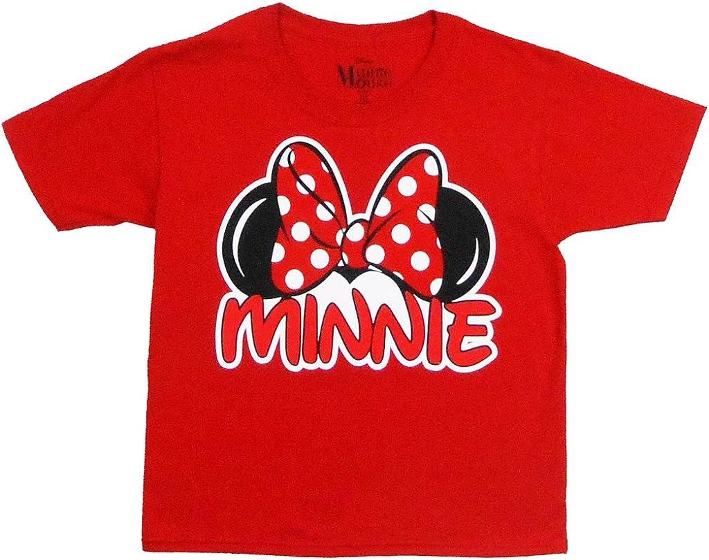 Disney Youth Minnie Family Tee