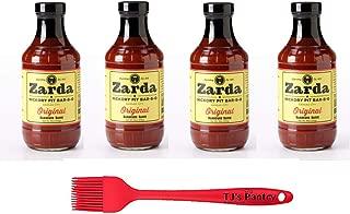 Kansas City BBQ Variety Pack + TJ's Pantry Silicone Basting Brush (Zarda Edition)
