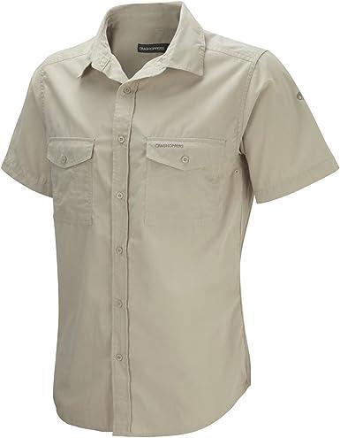 Craghoppers Kiwi Camisa de Manga Corta, Hombre