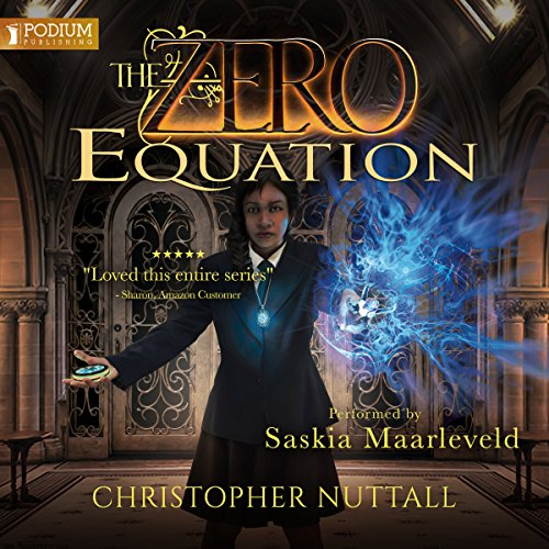 The Zero Equation audiobook cover art