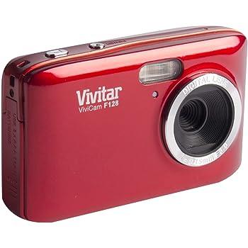 Vivitar HD 14.1MP Lightweight Portable 2.7 Inch Preview Screen Digital Camera, red