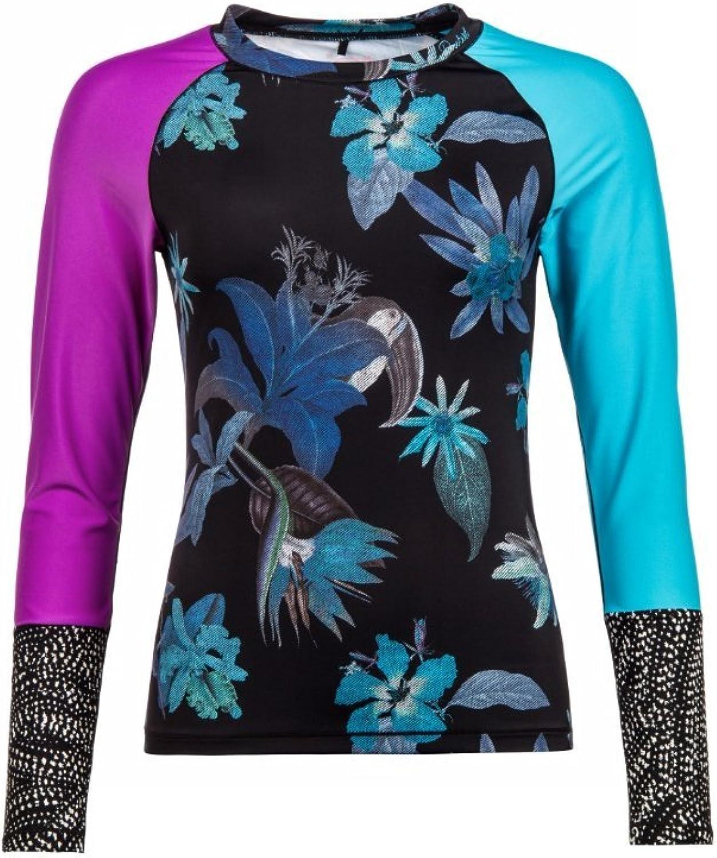 Protest Protest Protest Damen UV-Shirt Surfshirt Still Schwarz (200) 36 B06XCL3HGC  Clever und praktisch be5ee5