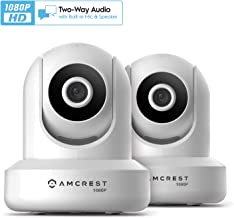 2-Pack Amcrest ProHD 1080P WiFi/Wireless IP Security Camera IP2M-841 Pan/Tilt, 2-Way..