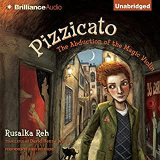 Pizzicato audiobook cover art