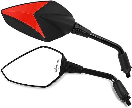 Universal Espejo Retrovisor Pareja Moto Aprilia Tuono 1000 SL 750 Shiver Universal Espejo Retrovisor Pareja Aprilia RS RXV 550