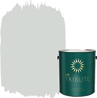 KILZ TRIBUTE Interior Matte Paint and Primer in One, 1 Gallon, Cool Fog (TB-61)