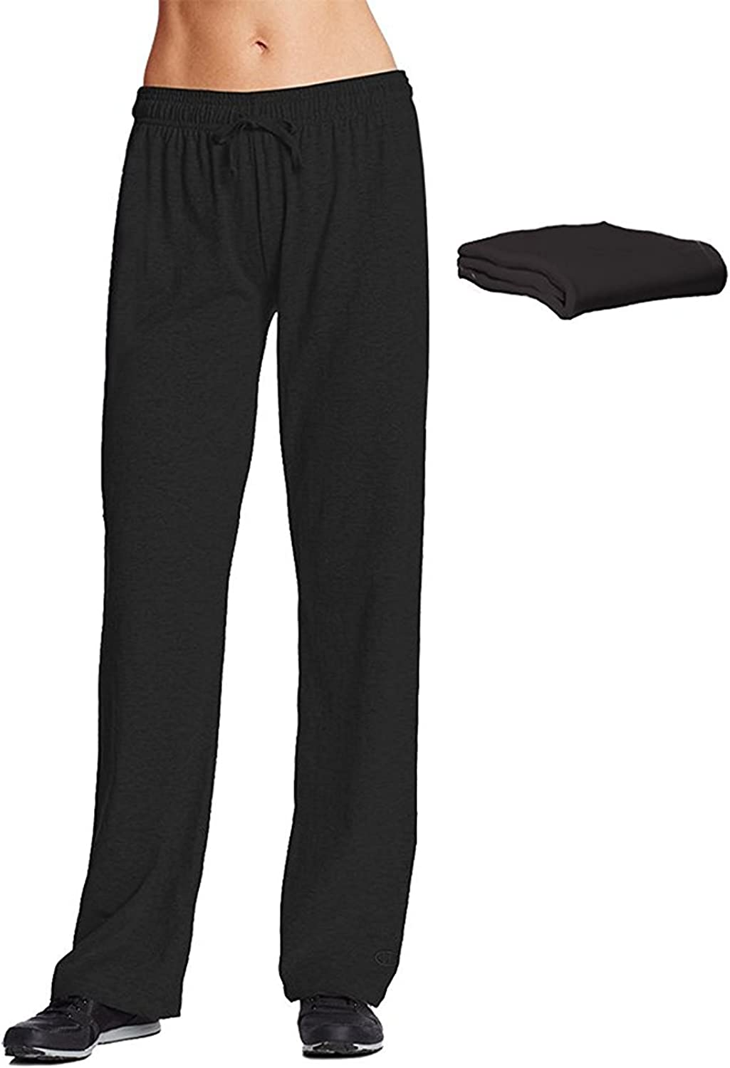 Champion M7421 Low price Womens Jersey Pant Pack Manufacturer regenerated product 2 Black