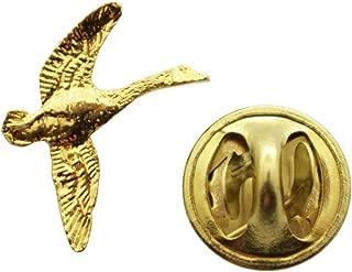 Sarah's Treats & Treasures Canada Goose Mini Pin ~ 24K Gold ~ Miniature Lapel Pin