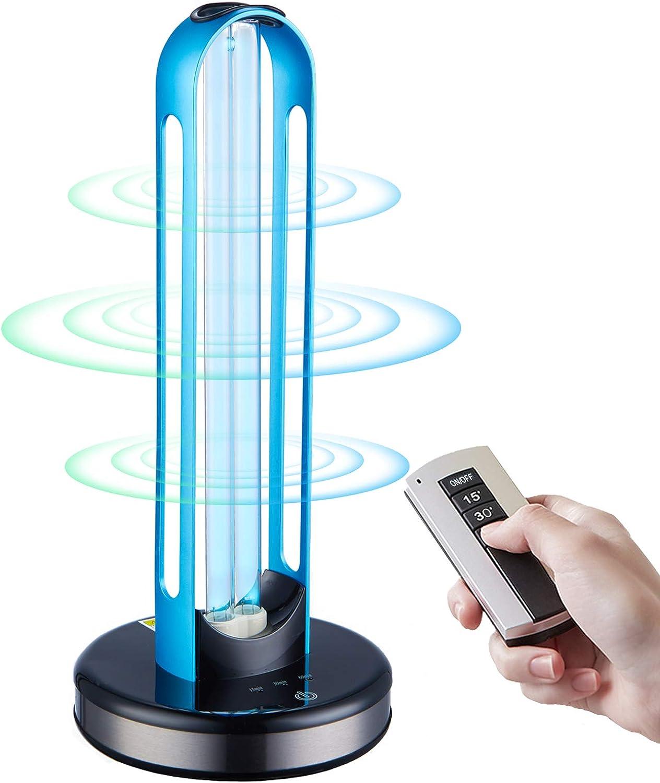 UV Light Sanitizer Disinfection Germicidal security Lamp Sterilizer Ranking TOP8