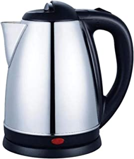 Generic Stainless Steel Electric Kettle, Silver - 1.8 Liter