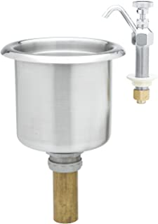 T&S Brass B-2282-01-F05 Dipperwell Faucet with 0.40 GPM Flow Tower and Bowl Assembly